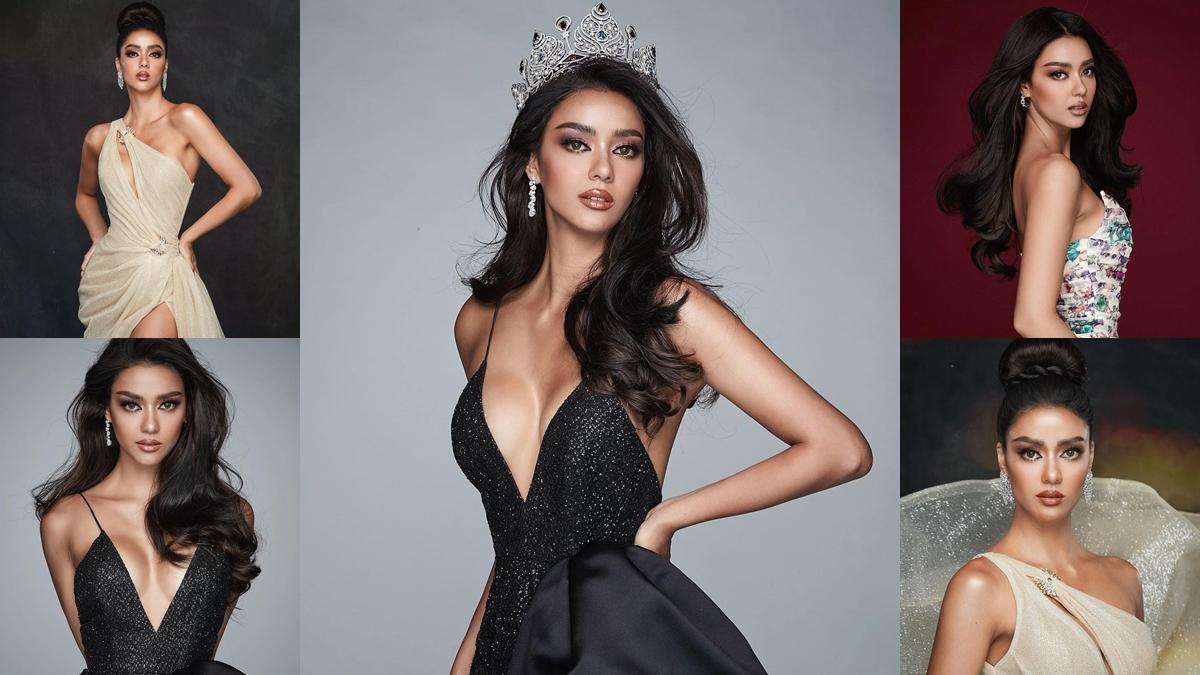 Miss Thailand Universe Miss Thailand Universe 2020 น้องฉัตร ประกวดนางงาม อแมนด้า-ชาลิสา ออบดัม เมคอัพ