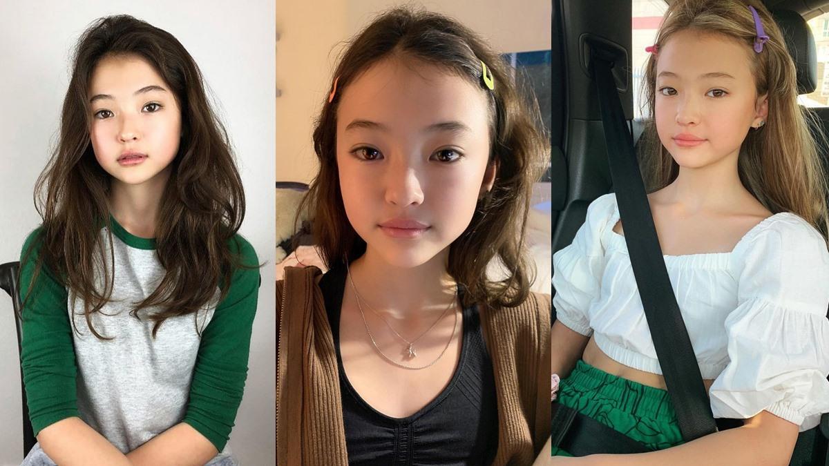 ella gross นางแบบเด็ก ผู้หญิงหน้าสวย ลูกครึ่งเกาหลี เอลล่า กรอสส์