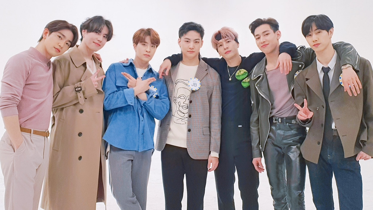 GOT7 JYP Entertainment ศิลปินเกาหลี