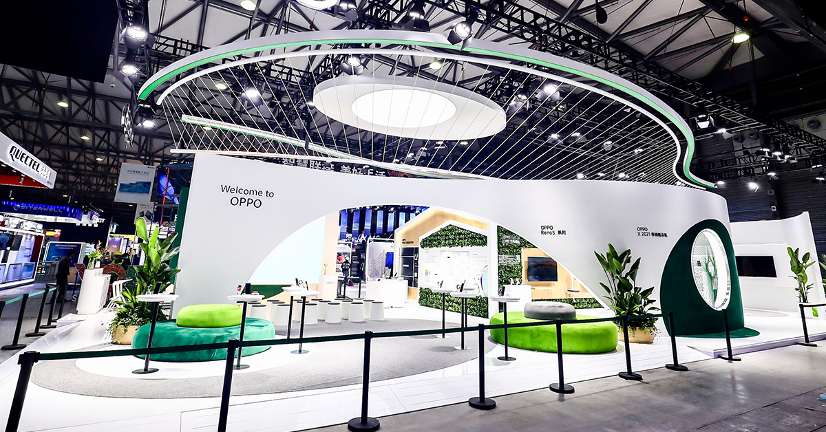 MWC Shanghai OPPO Flash Charges smartphone สมาร์ทโฟน ออปโป้