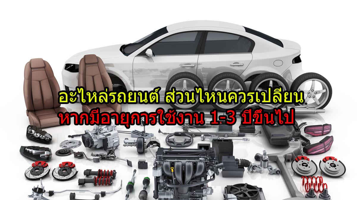 ความรู้เรื่องรถ ซ่อมรถ ตรวจเช็กสภาพรถ อะไหล่รถยนต์