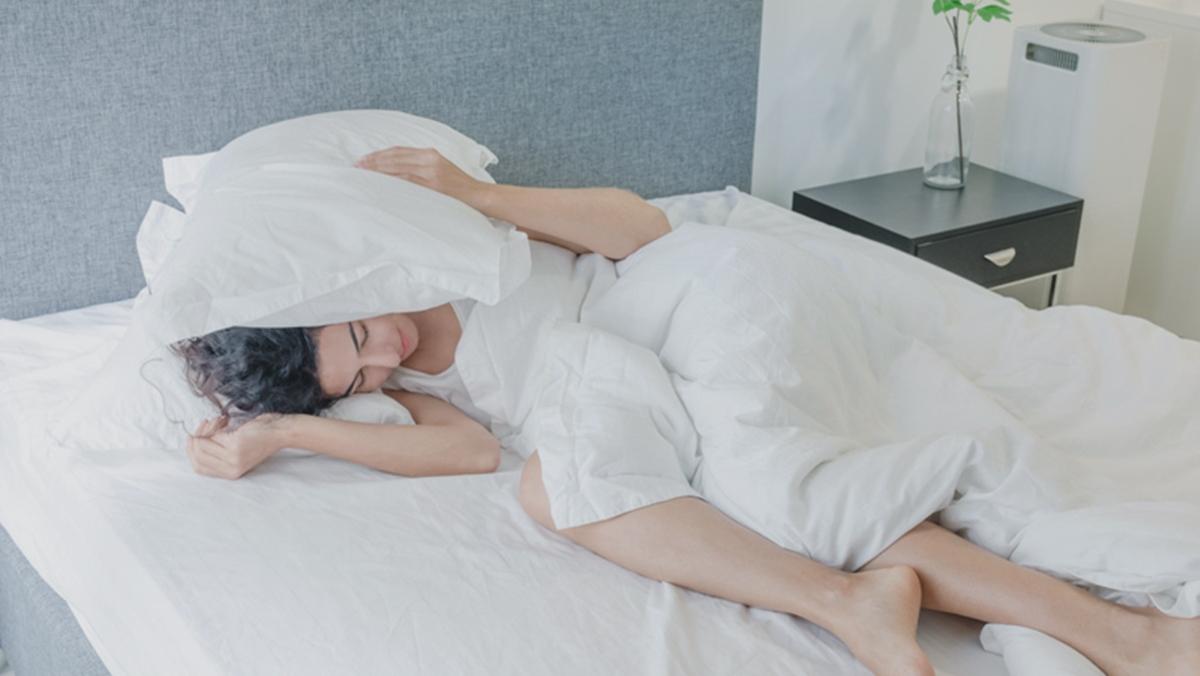 นอนน้อย นอนไม่หลับ น้ำหนักขึ้น
