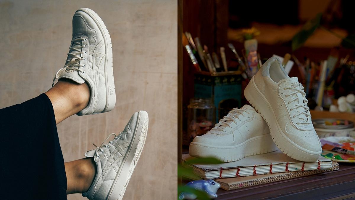 ASICS มินิมอล รองเท้าสนีกเกอร์ สนีกเกอร์ แฟชั่นรองเท้า