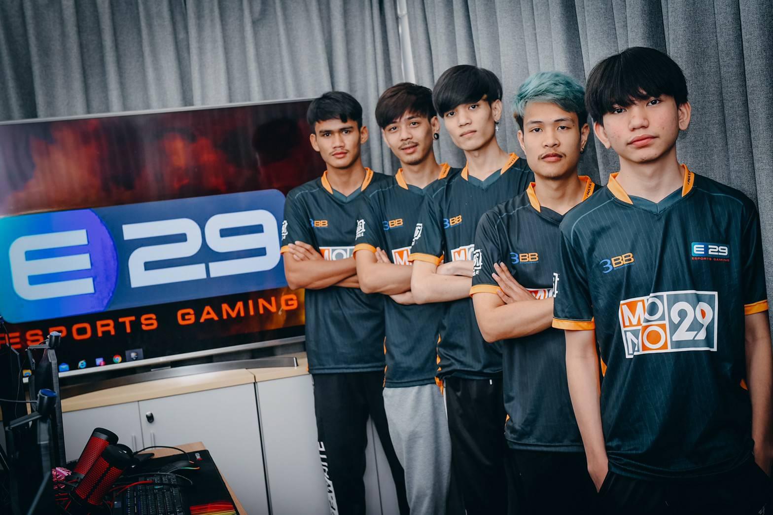PUBG MOBILE PRO LEAGUE Thailand ทีม E29 Esports Gaming