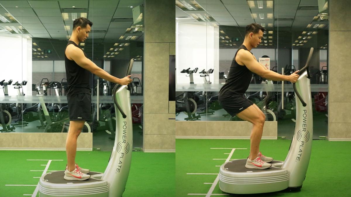 Power Plate ท่าออกกำลังกาย ท่าออกกำลังกายง่ายๆ ออกกำลังกาย ออฟฟิศซินโดรม