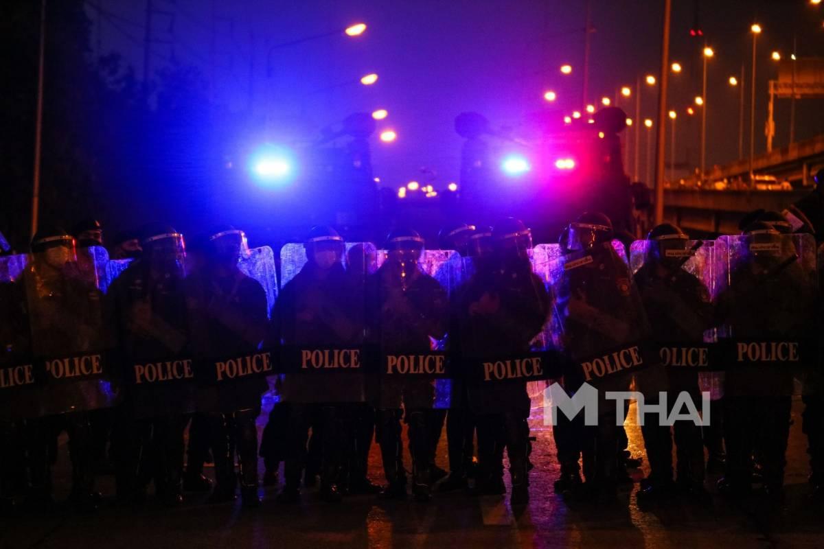 ตำรวจ ชุดควบคุมฝูงชน โควิด-19