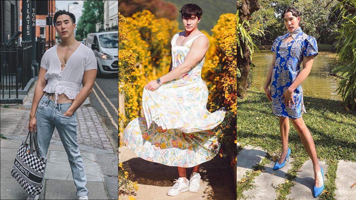 Genderless Fashion LGBTQ ผู้ชายใส่กระโปรง เขื่อน ภัทรดนัย เสื้อผ้าไม่มีเพศ
