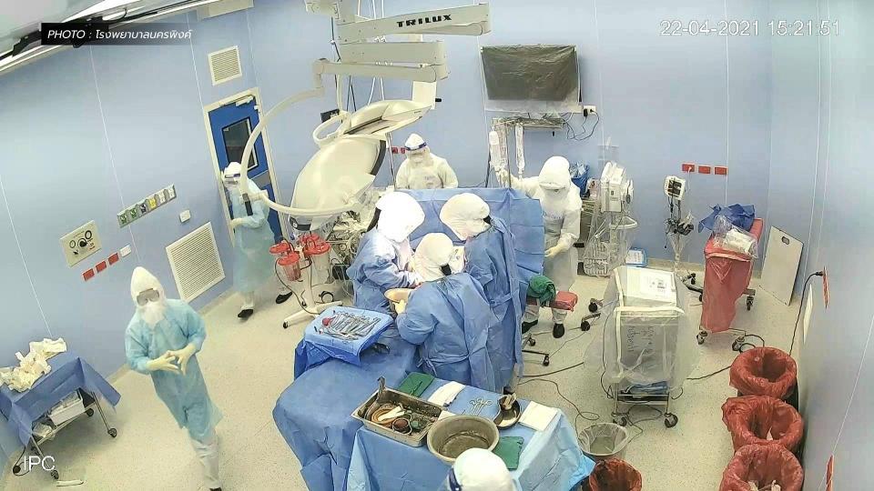 ผ่าตัดคลอดผู้ป่วยโควิด ผู้ป่วยโควิด-19 โรงพยาบาลนครพิง
