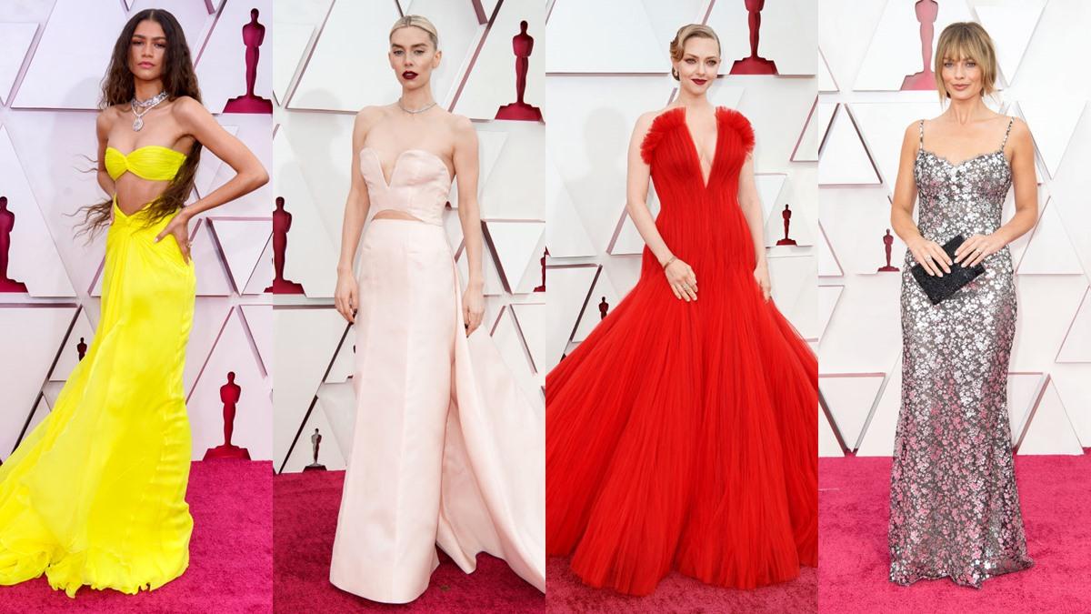 Oscars2021 งานประกาศรางวัล พรมแดง พรมแดงออสการ์ เดินพรมแดง