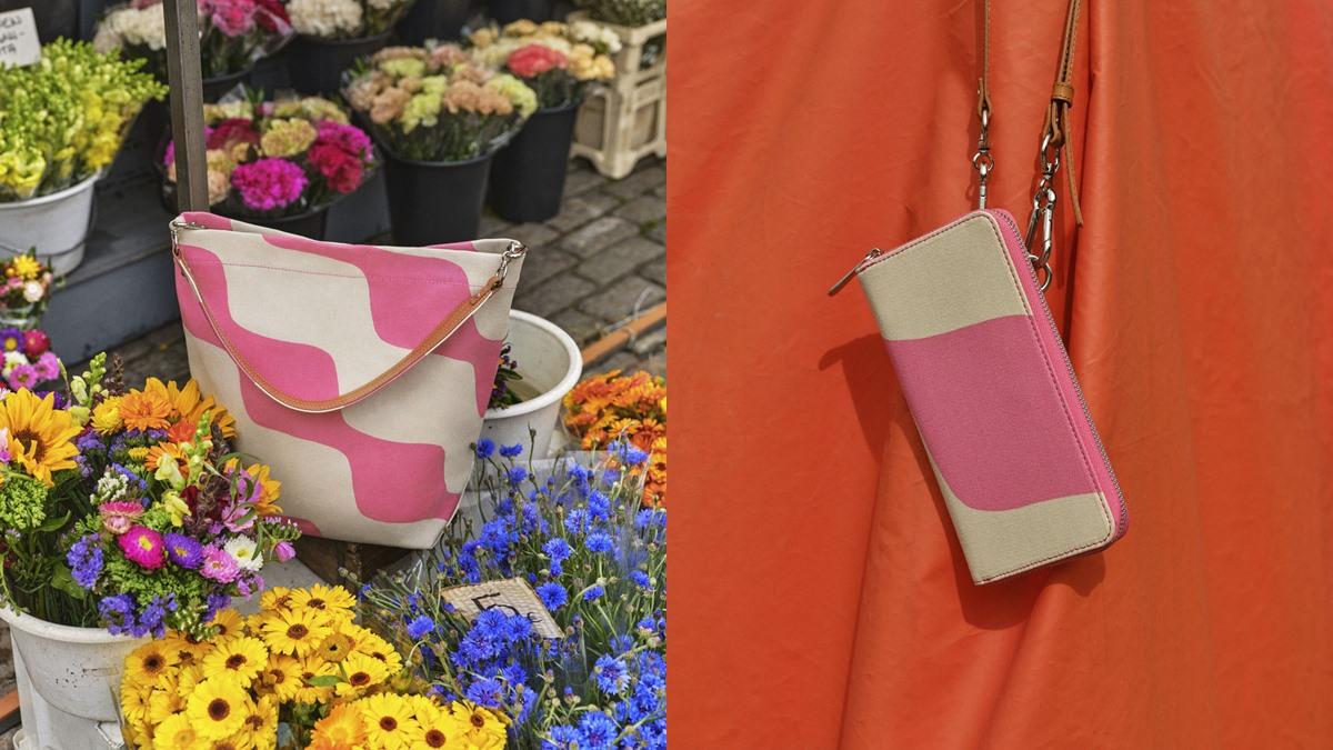 Marimekko กระเป๋า กระเป๋าผ้า กระเป๋ามารีเมกโกะ มารีเมกโกะ ลายดอกอูนิกโกะ
