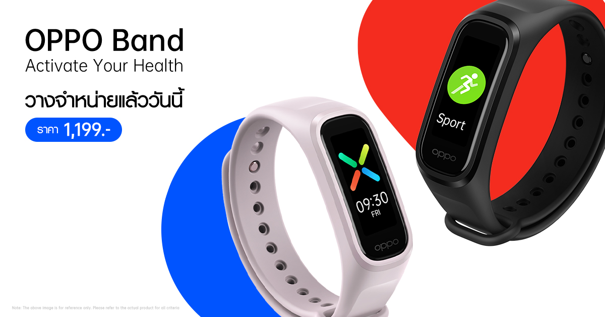 Activate Your Health Oppo smartphones SpO2 Monitoring สมาร์ทโฟน ออปโป้
