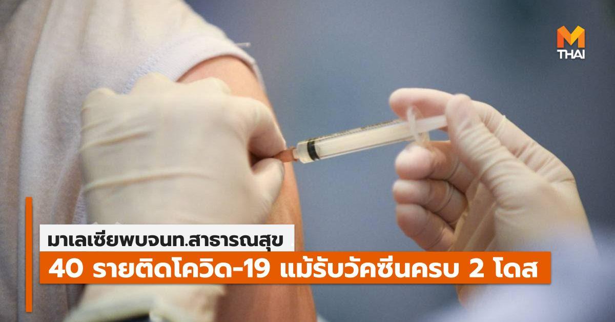 ข่าวต่างประเทศ มาเลเซีย วัคซีนโควิด-19 โควิด-19