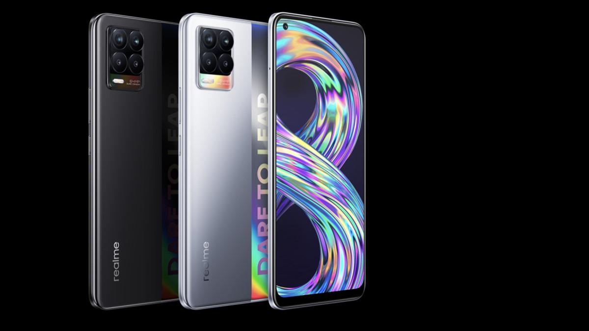 Realme realme 8 Series สมาร์ทโฟน เรียลมี