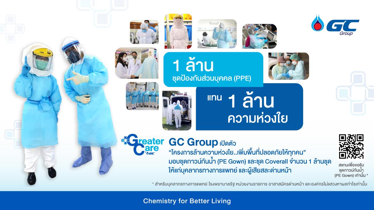 COVID-19 GC PTT ชุดPPE โควิด-19