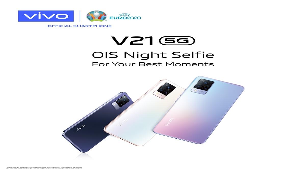 OIS smartphones V21 5G Vivo วีโว่ สมาร์ทโฟน