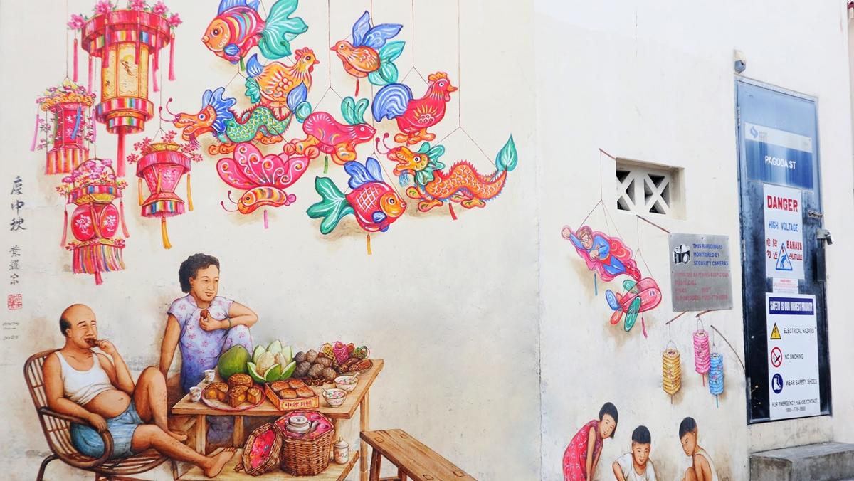 Mural Art ท่องเที่ยว ศิลปะ สิงคโปร์