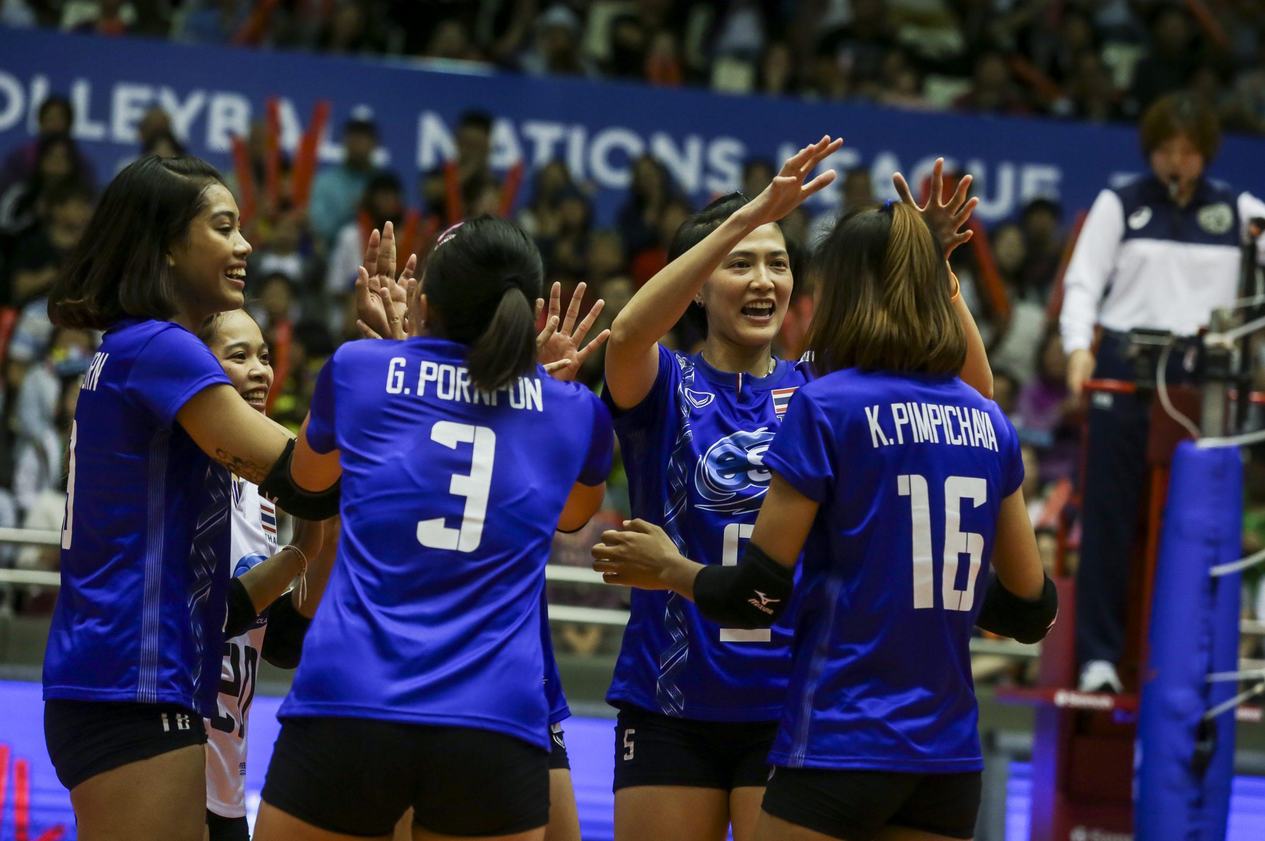 วอลเลย์บอลหญิงทีมชาติไทย วอลเลย์บอลหญิงเนชันส์ลีก