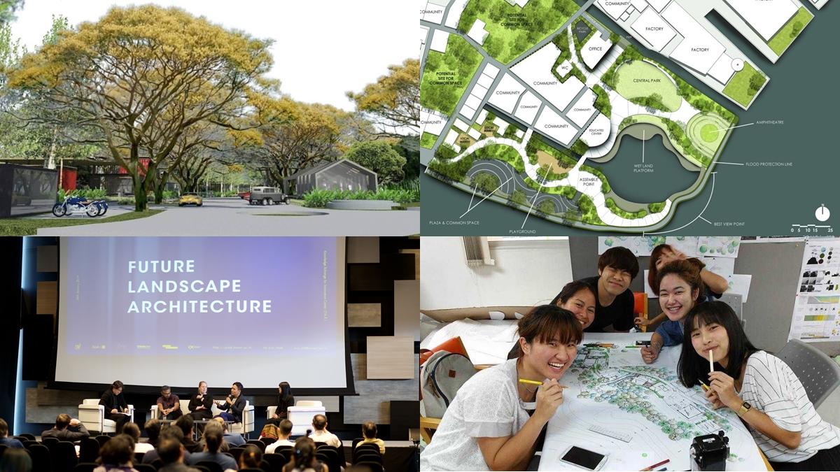 ภูมิสถาปัตยกรรม-หลักสูตรนานาชาติ มหาวิทยาลัย มหาวิทยาลัยเทคโนโลยีพระจอมเกล้าธนบุรี สาขาน่าเรียน