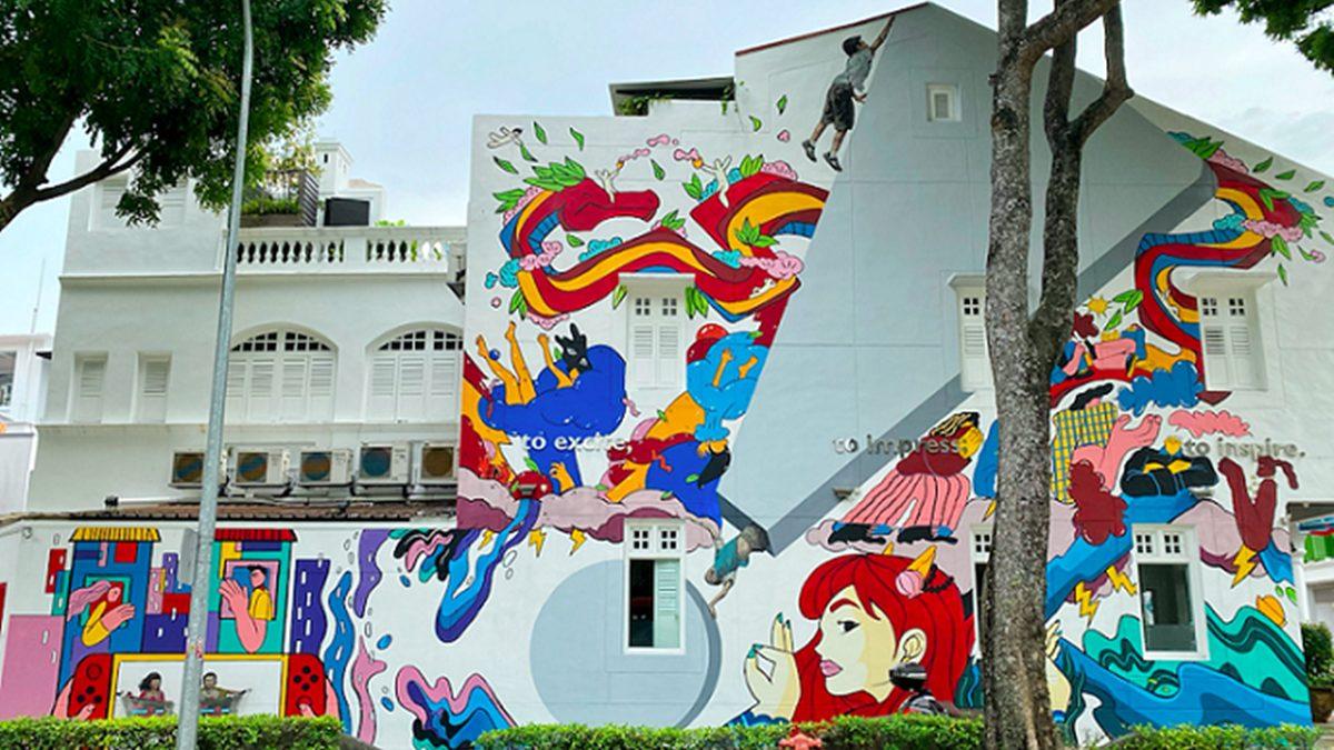กัมปง เกอลัม ที่เที่ยวสิงคโปร์ เที่ยวต่างประเทศ