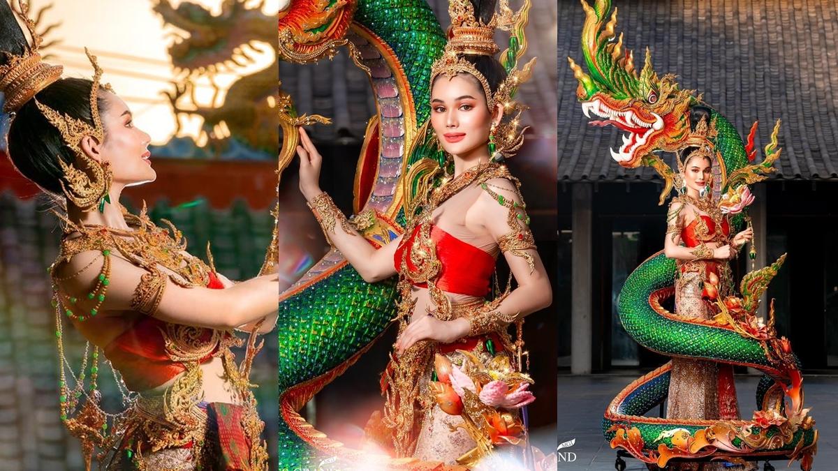 Miss Chinese World 2021 ประกวดนางงาม มิสแกรนด์ไทยแลนด์ โบนัส-ณัฐณิชา ศรีทองสุก