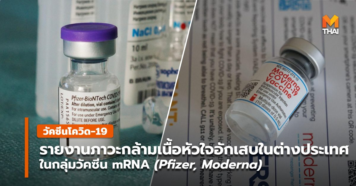 Moderna วัคซีน mRNA วัคซีนโควิด-19