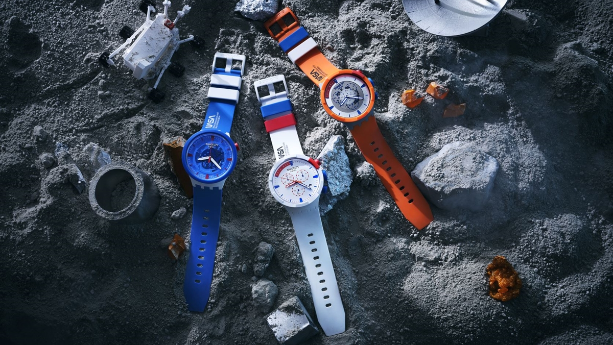 Space Collection swatch นาฬิกาข้อมือ