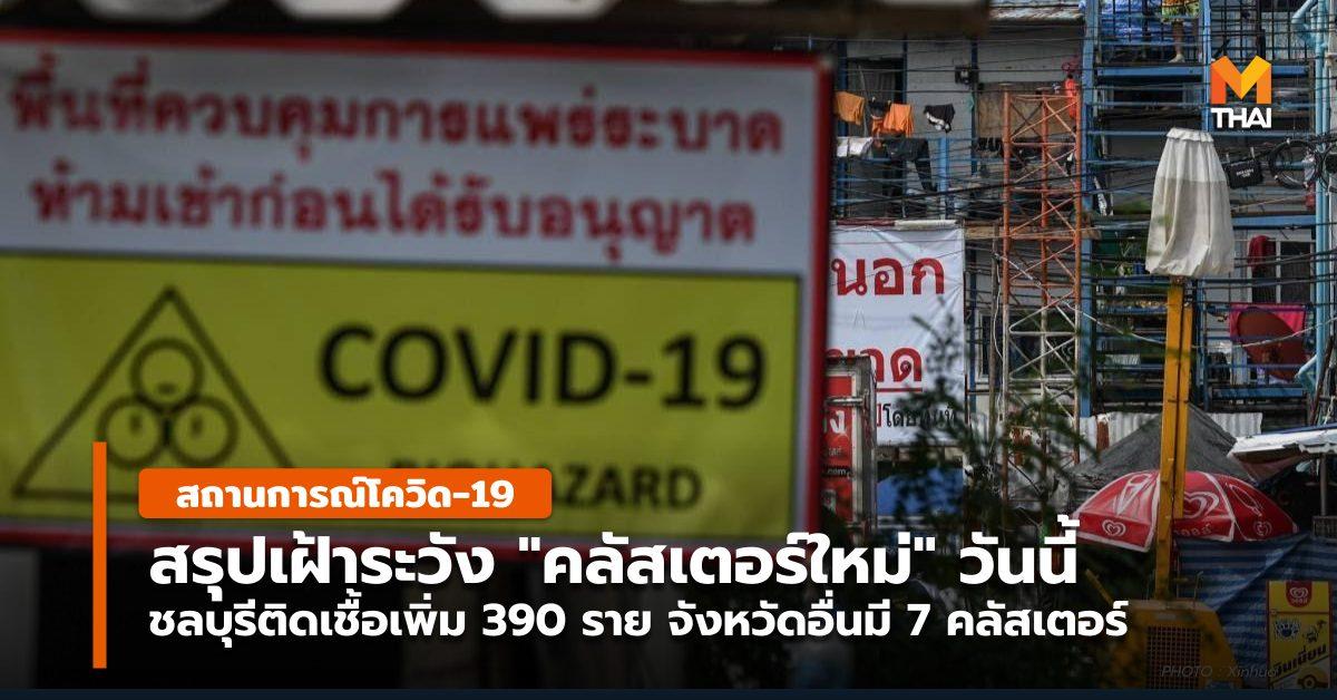 กทม. คลัสเตอร์ใหม่ ชลบุรี สถานการณ์โควิด-19 โควิด-19