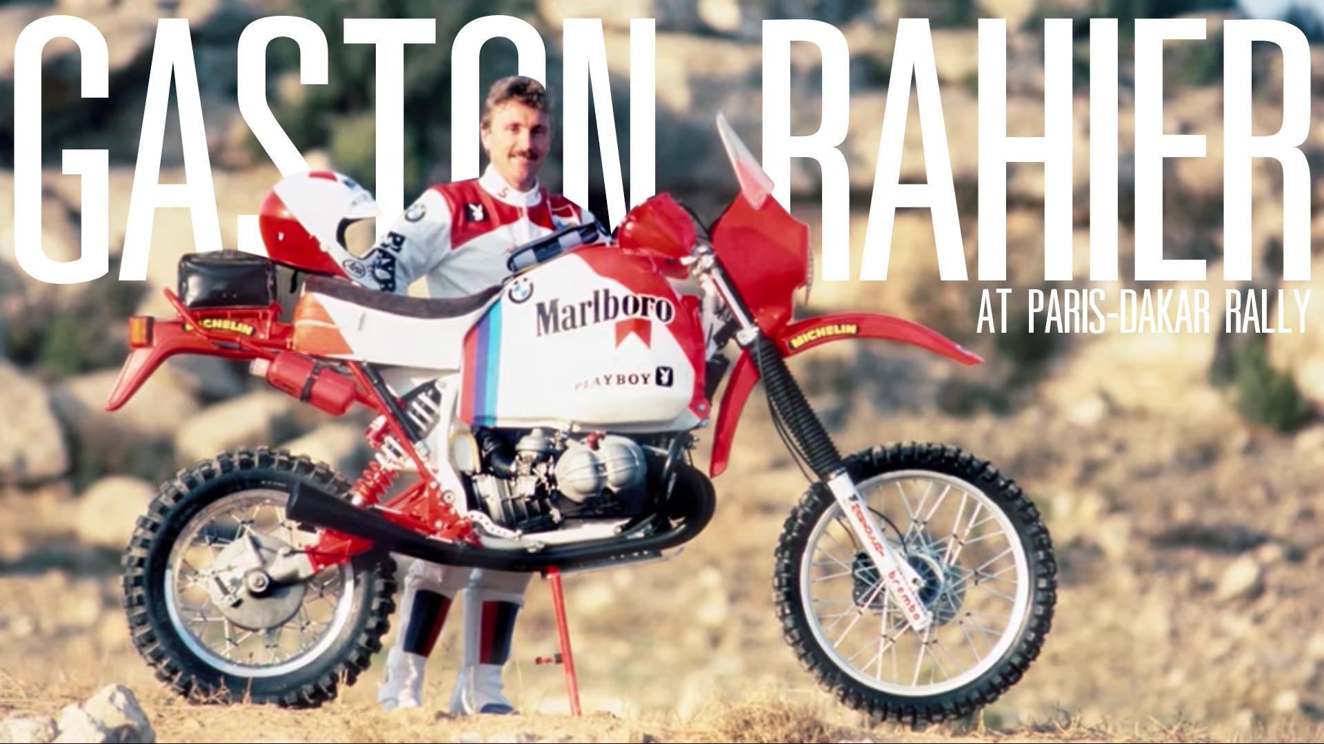 BMW R 80 G/S Gaston Rahier Paris-Dakar Rally