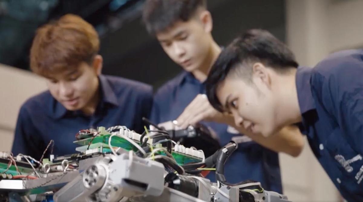 ม.เชียงใหม่ วิศว Robotics & AI วิศวกรรมหุ่นยนต์และปัญญาประดิษฐ์ หลักสูตรน่าเรียน