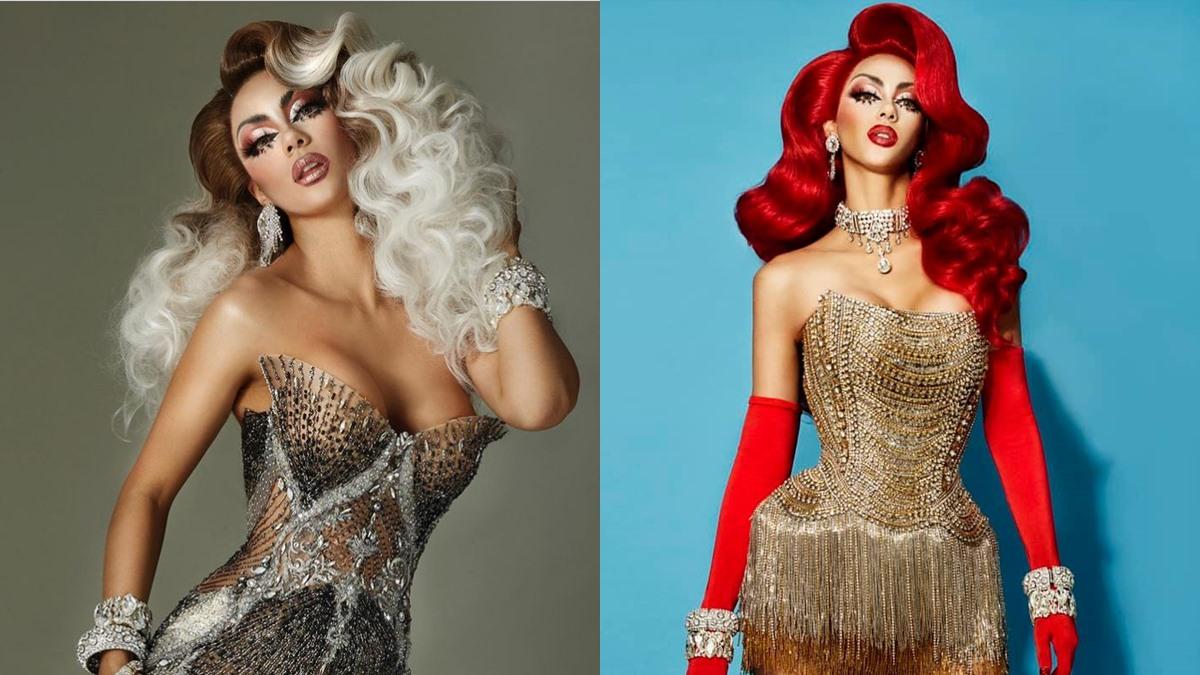 Drag Queen LGBTQ Pride Month อแมนด้า ชาลิสา แปลงโฉม