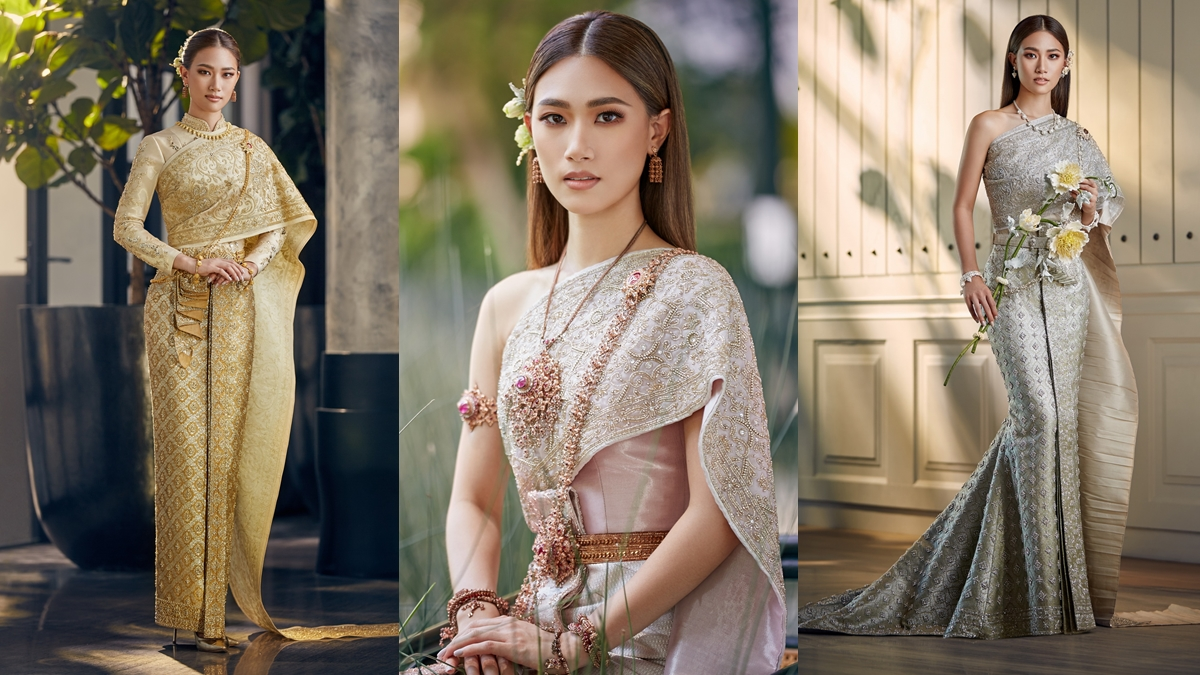 ชุดแต่งงาน ชุดไทย ชุดไทยประยุกต์ ชุดไทยแต่งงาน เพลง ชนม์ทิดา