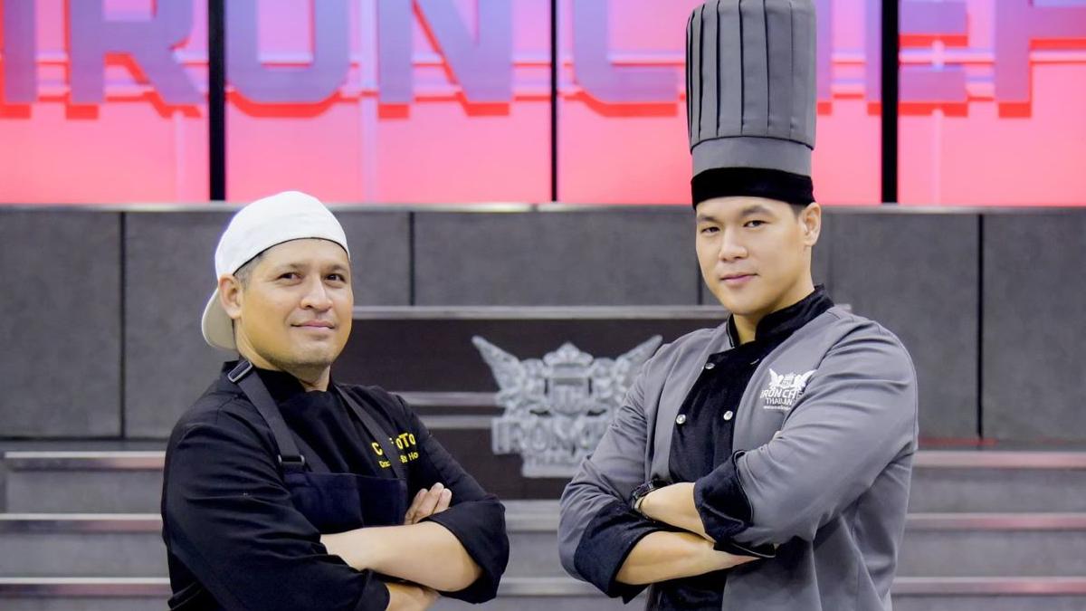 Iron Chef Thailand รายการทีวี เชฟกระทะเหล็ก ประเทศไทย