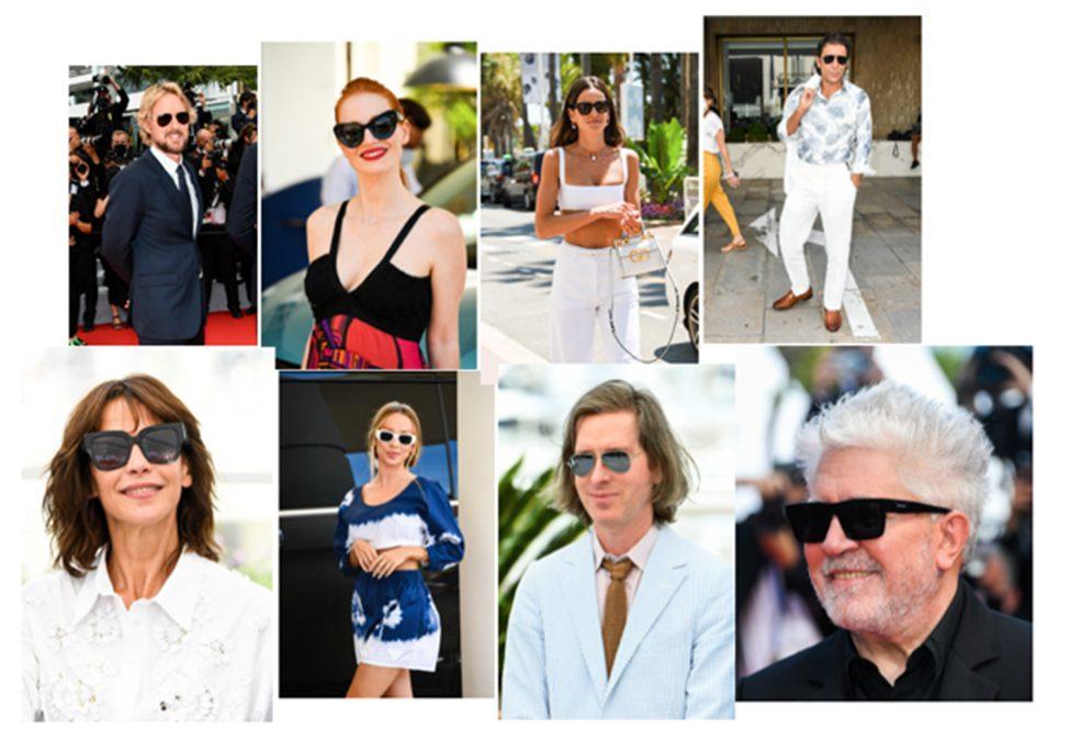 Cannes Film Festival 2021 CelebritySpotted glasses แว่นตา