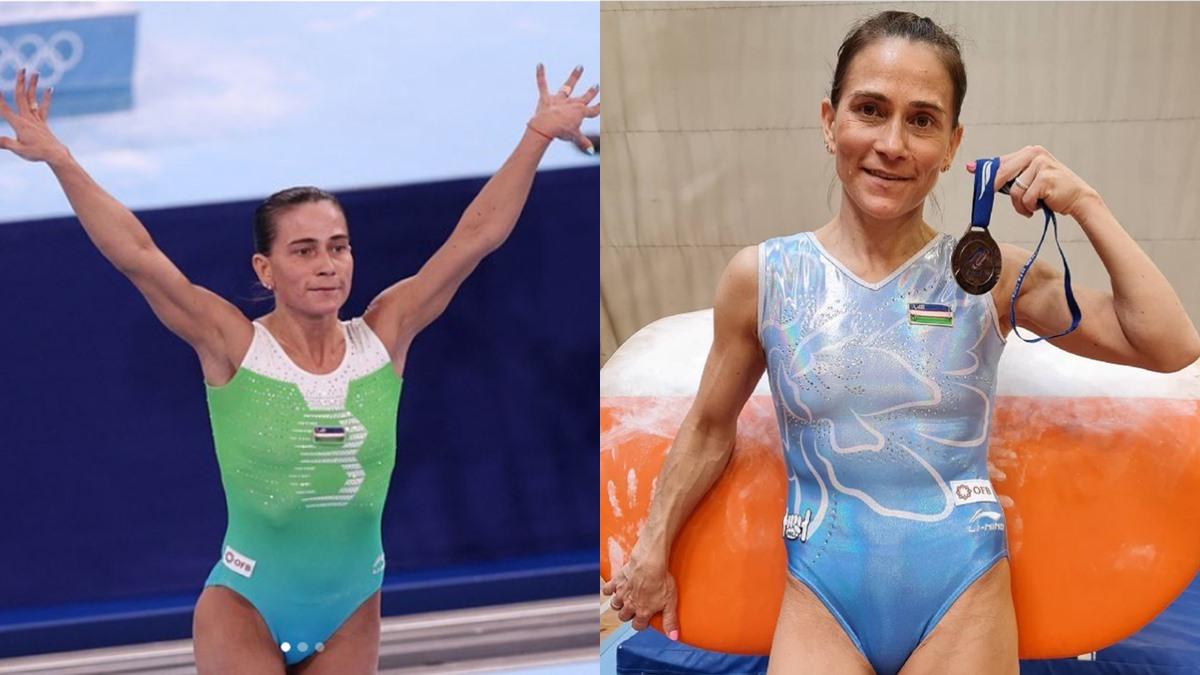 Oksana Chusovitina นักกีฬายิมนาสติก นักกีฬาโอลิมปิก โอลิมปิก