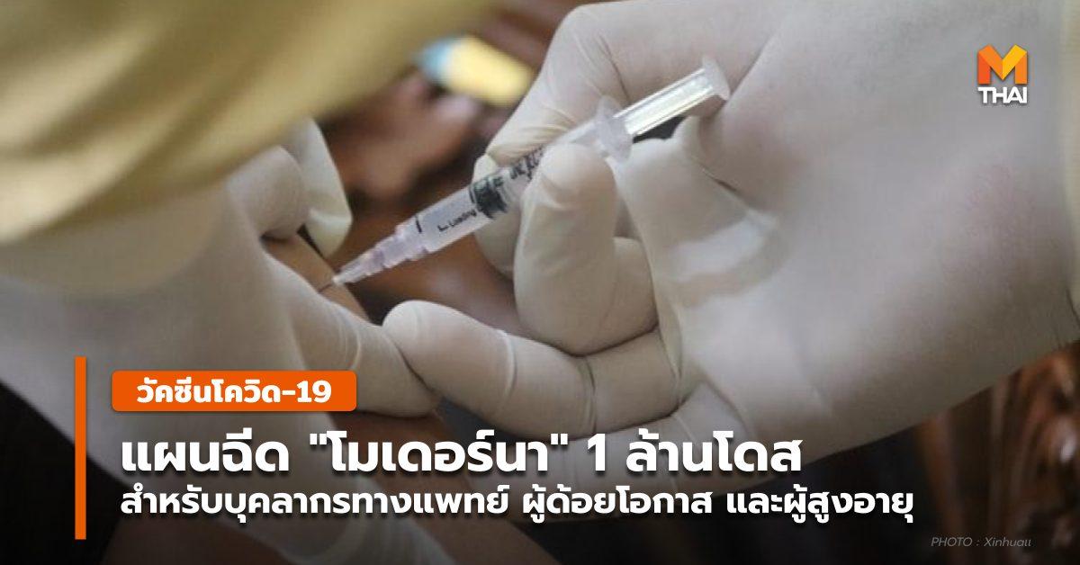 วัคซีนโควิด-19 สภากาชาดไทย โมเดอร์นา