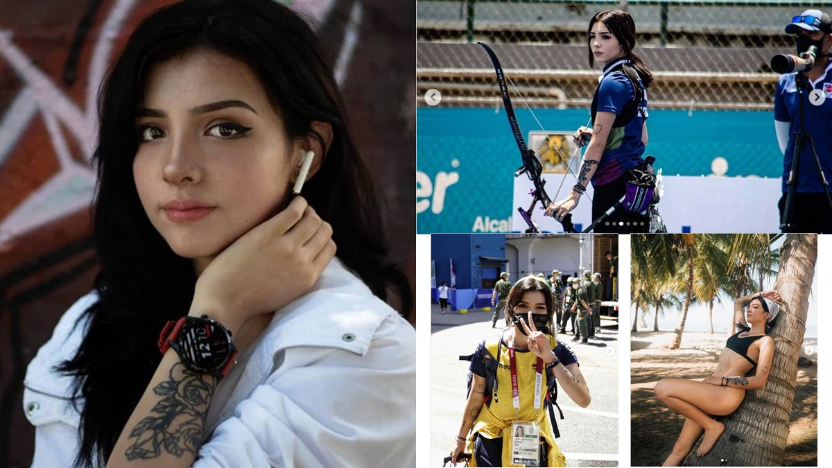Valentina Acosta Giraldo นักกีฬาสวย นักยิงธนู โอลิมปิก