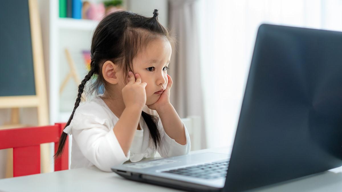 การเรียนยุคโควิด19 พัฒนาการเด็ก วิธีดูแลลูก เด็กอนุบาล เรียนออนไลน์