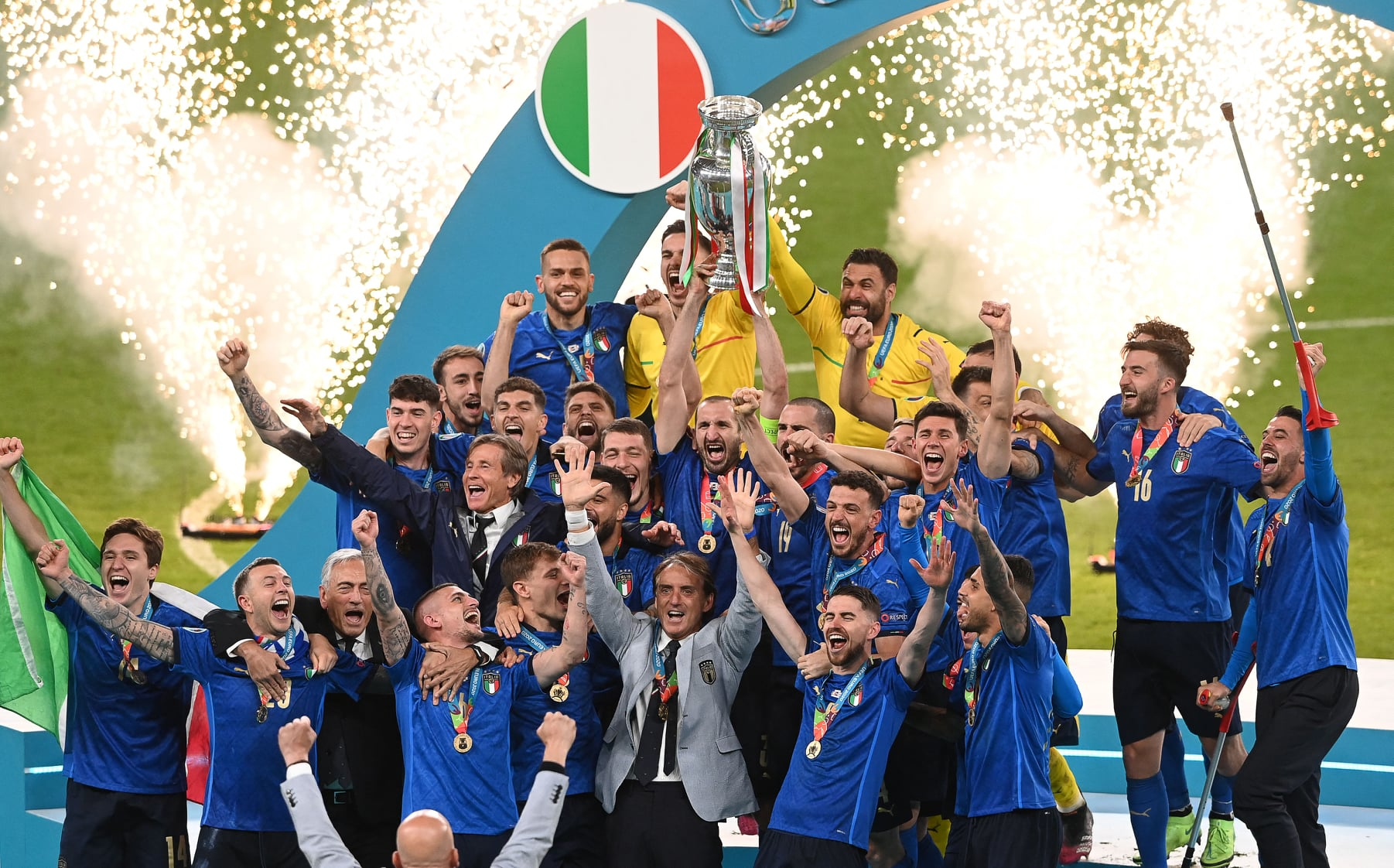 ทีมชาติอังกฤษ ทีมชาติอิตาลี ฟุตบอลยูโร 2020