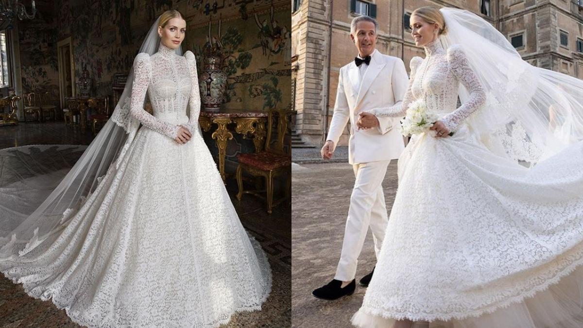 Dolce & Gabbana ชุดเจ้าสาว ชุดแต่งงาน เจ้าหญิงไดอาน่า เลดี้ คิตตี้ สเปนเซอร์