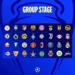 ผลการจับสลาก ฟุตบอลยูฟ่า แชมเปียนส์ ลีก (รอบแบ่งกลุ่ม) ฤดูกาล 2021-22