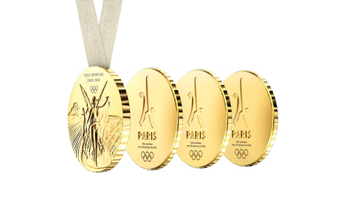 Philippe Starck ปารีสเกมส์ 2024 เหรียญโอลิมปิก โอลิมปิก