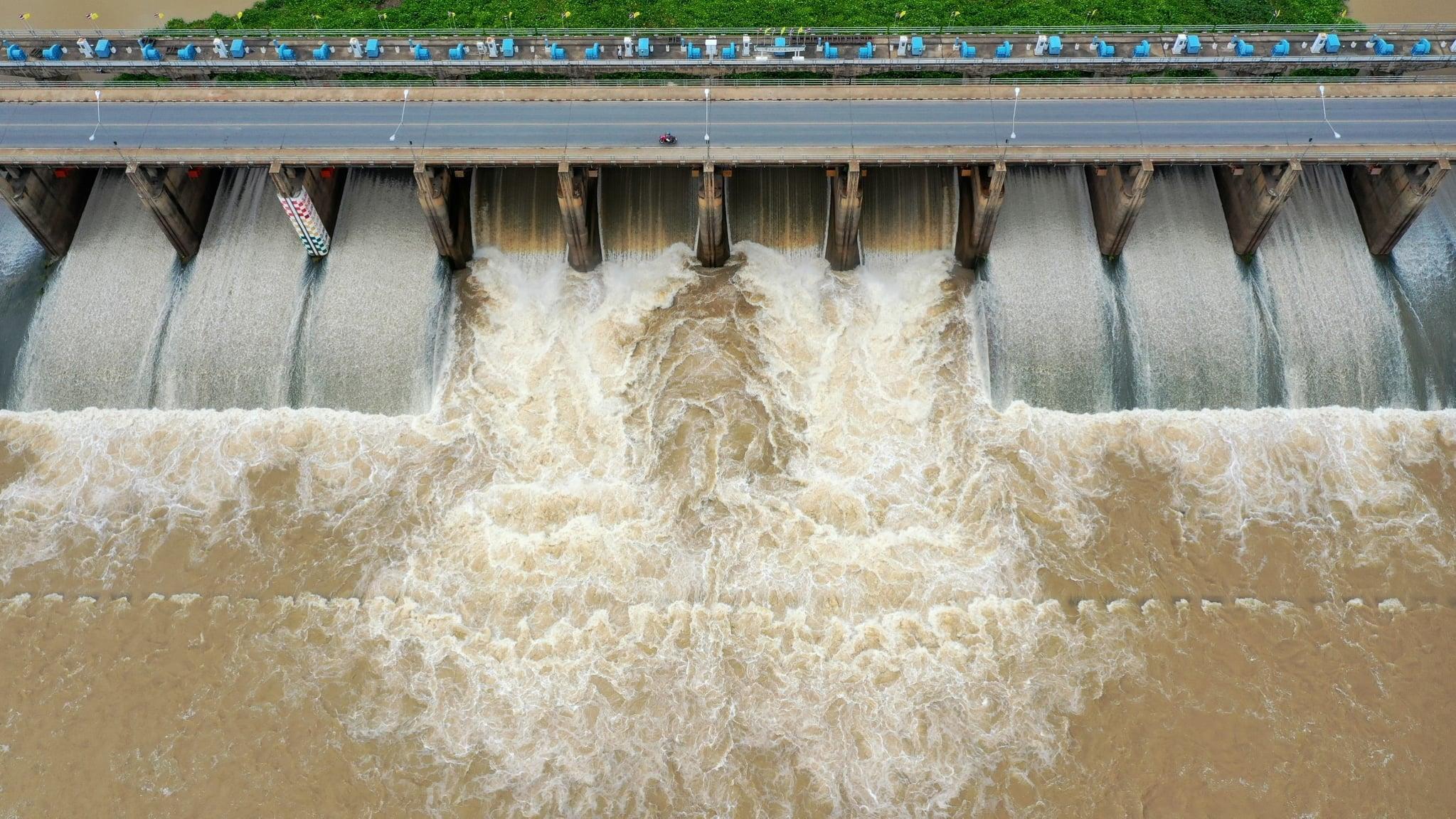 กรมชลประทาน น้ำท่วม สถานการณ์น้ำท่วม เขื่อนเจ้าพระยา