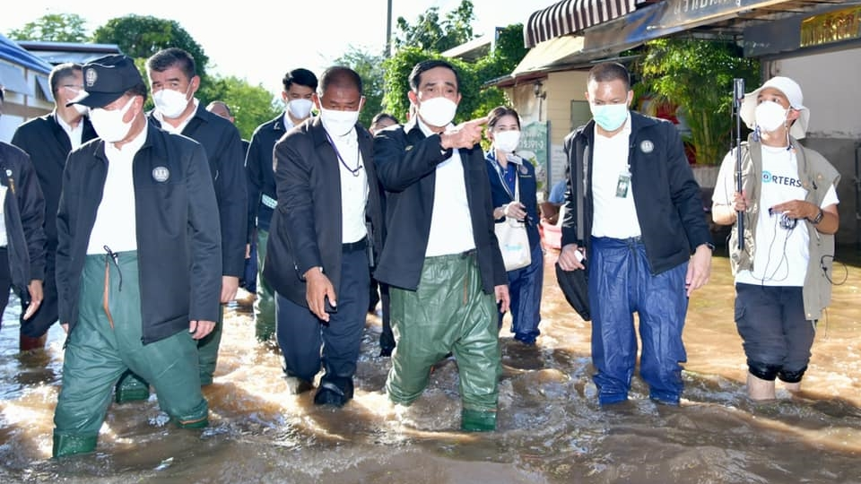 นายกรัฐมนตรี น้ำท่วม สถานการณ์น้ำท่วม