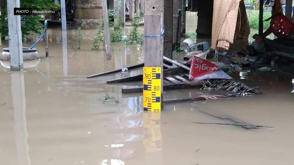 กรมชลประทาน สถานการณ์น้ำท่วม