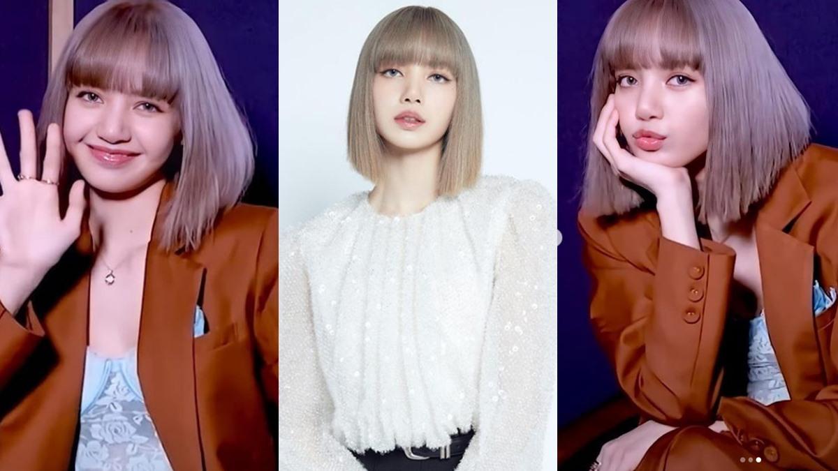 Lisa Blackpink ทำสีผม ลิซ่า แบล็กพิงค์ สีผม สีผม ลิซ่า