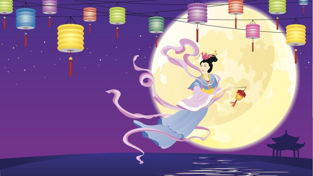 ขนมไหว้พระจันทร์ ตำนาน ตำนานกระต่ายบนดวงจันทร์ ประเทศจีน วันไหว้พระจันทร์