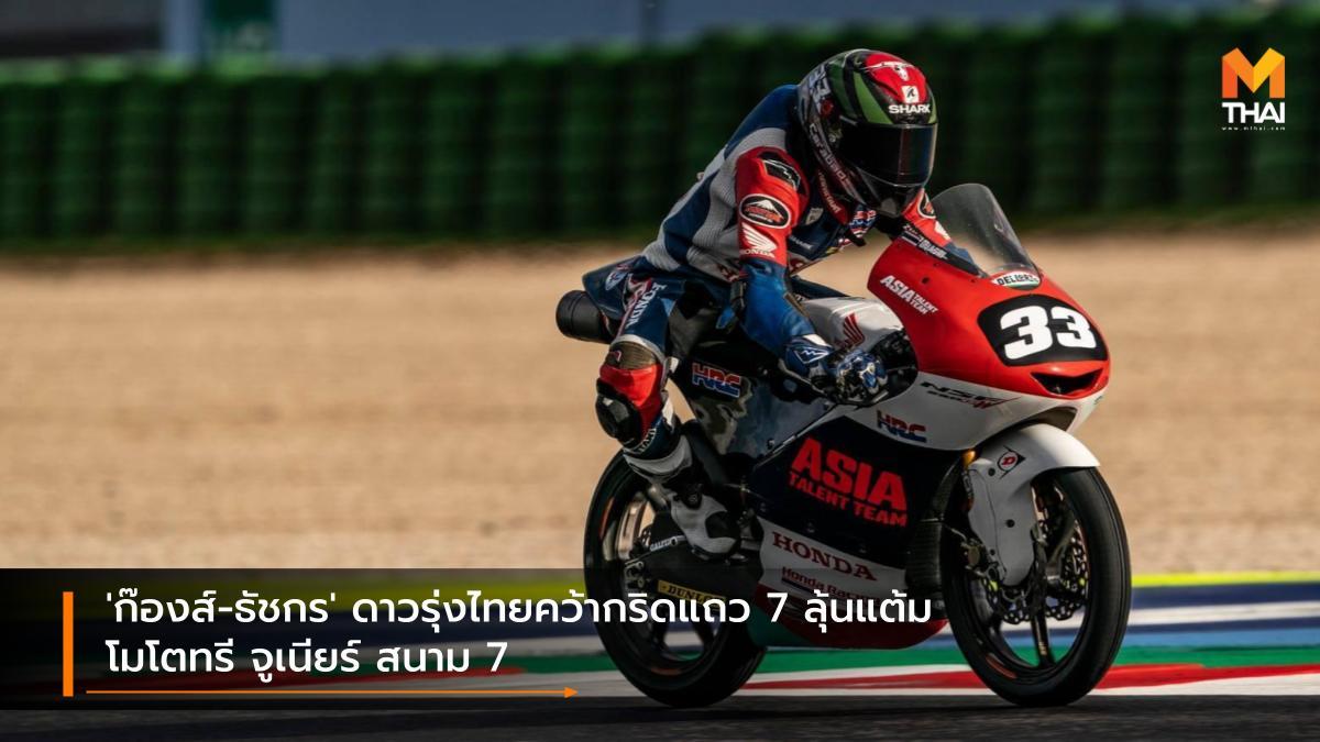 Honda Racing Thailand MotoGP 2021 ธัชกร บัวศรี ฮอนด้า เรซ ทู เดอะ ดรีม ฮอนด้า เรซซิ่ง ไทยแลนด์ เรดบูล โมโตจีพี รุกกีส์ คัพ 2021 โมโตจีพี 2021