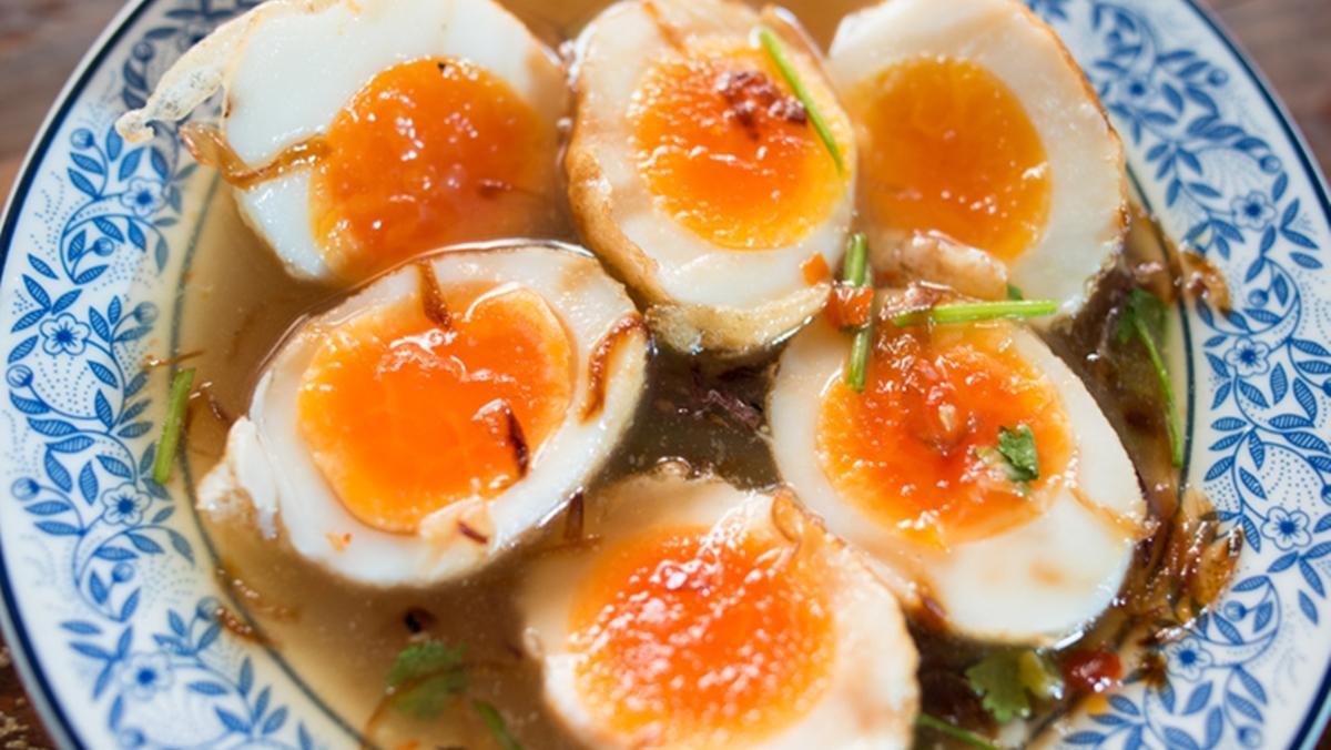 สูตรอาหาร เมนูทำง่าย ไข่ลูกเขย