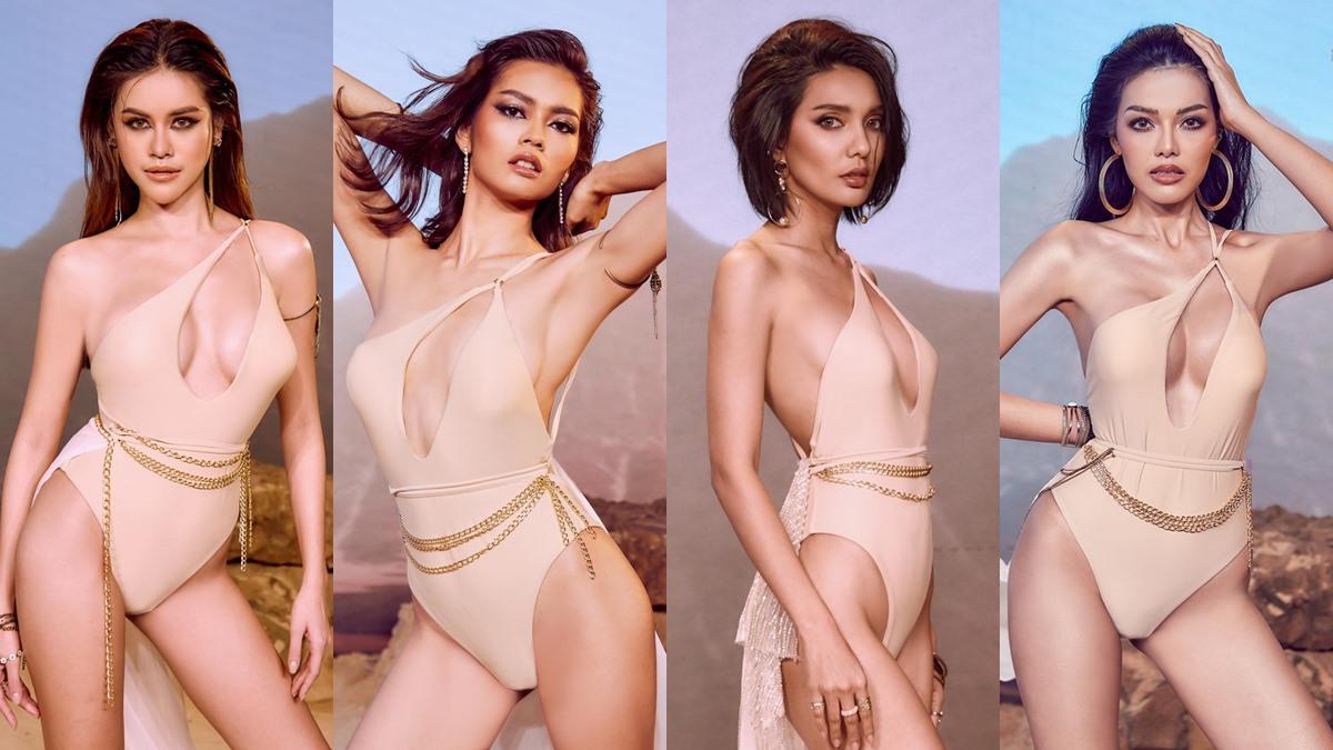 Miss Earth Thailand ชุดว่ายน้ำ ประกวดนางงาม มิสเอิร์ธไทยแลนด์