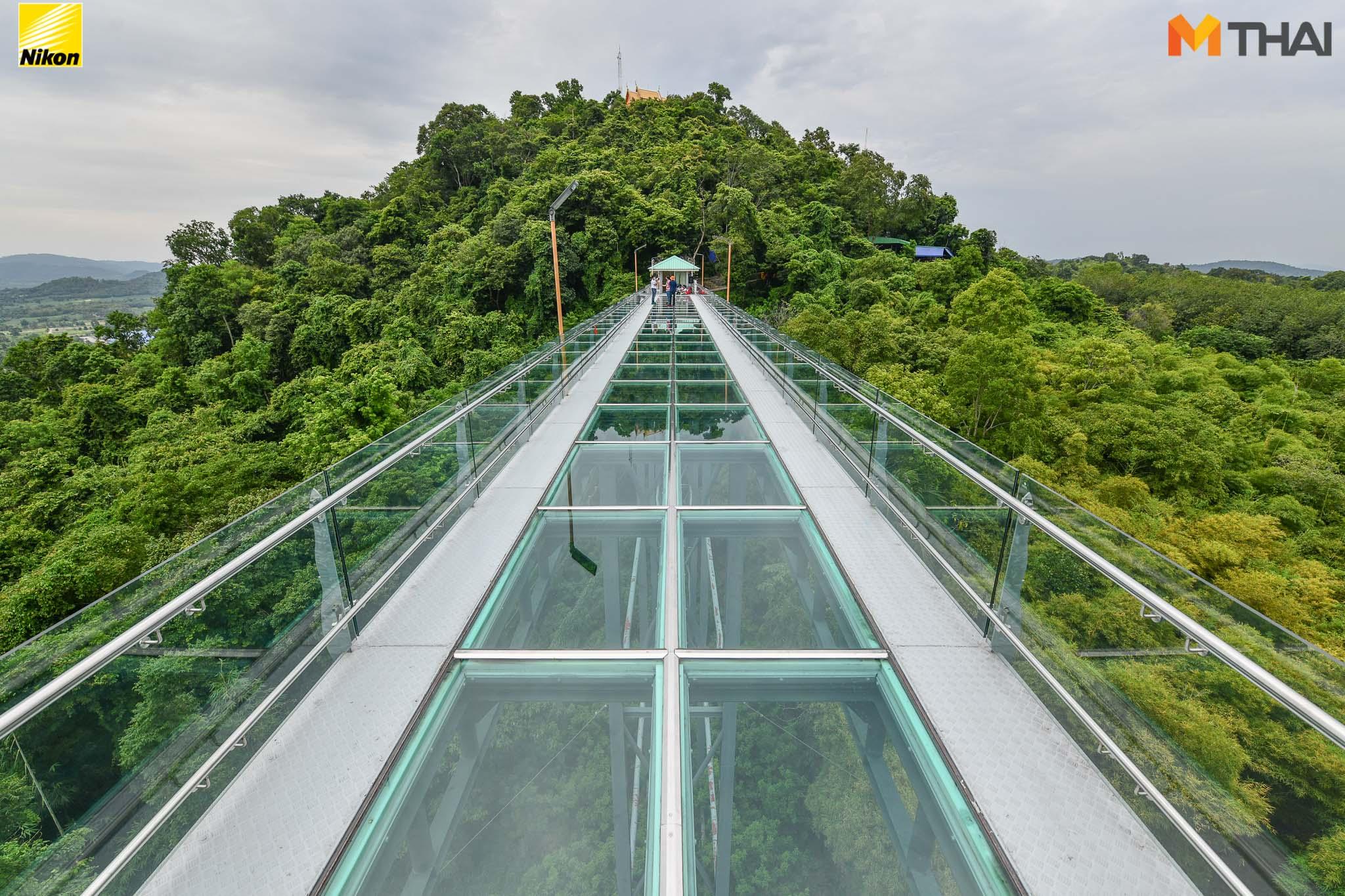 จุดเช็คอิน ชลบุรี วัดเขาตะแบก สกายวอร์ค สะพานกระจก